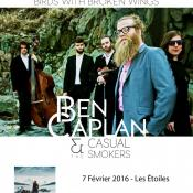 Ben Caplan, un artiste aussi talentueux que entier sera sur scène à Paris le 07 Février