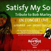 Affiche Bob Marley Hard Rock Café