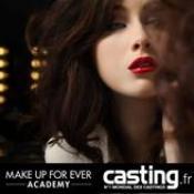 Gagnez une formation maquillage chez Make up Forever avec Casting.fr
