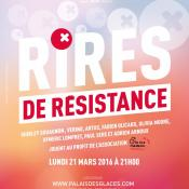 Affiche du spectacle Rires de résistance