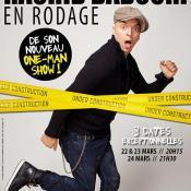 Affiche du spectacle: Rachid Badouri en rodage