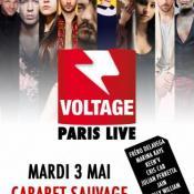 Show exceptionnel de Voltage Paris Live au Cabaret Sauvage!