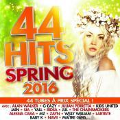44 Hits Spring 2016, la compile de votre été est enfin dans les bacs