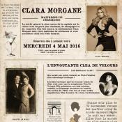 Petit cabaret de Clara 4 mai