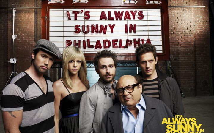 FX's It's Always Sunny in Philadelphia Looking for Girls