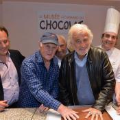 Le musée Gourmand du Chocolat avec Jean-Paul Belmondo
