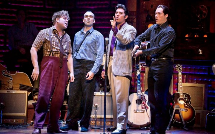 CMT's Million Dollar Quartet Speaking Principal Role