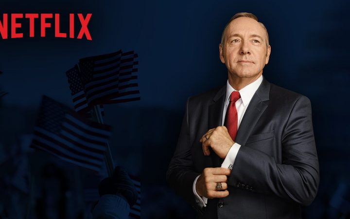 House of Cards Looking for Kids for Halloween Scene