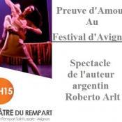 Preuve d'amour, Festival d'Avignon