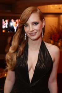 Jessica Chastain attends the Paramount Pictures Golden Globes Post Party at The Beverly Hilton in Beverly Hills, California on Sunday, January 11, 2015 (Photo: Brandon Clark/ABImages)