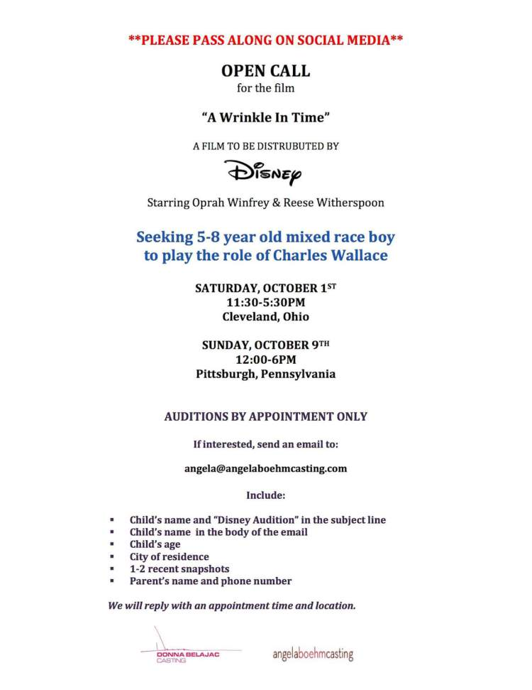 a-wrinkle-in-time-auditions