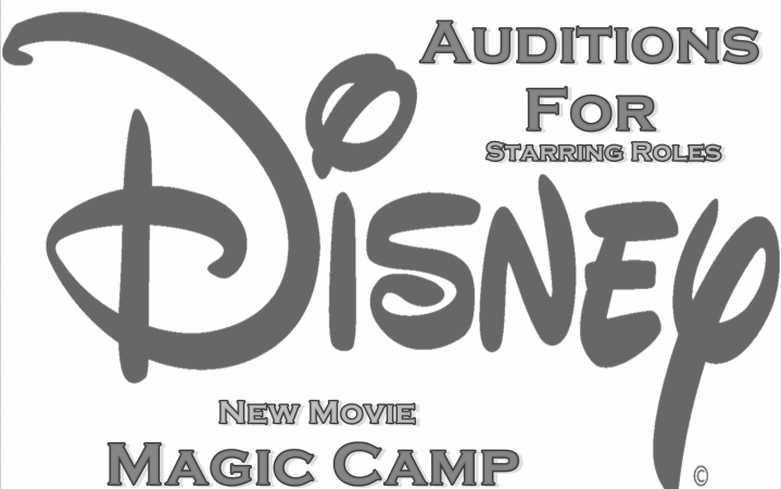 "Disney Movie Magic Camp"" Kids & Teens for Lead Roles"