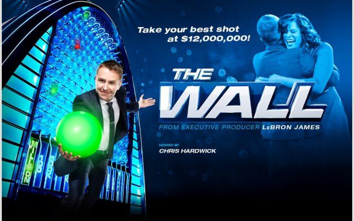 "Lebron James NBC Game Show ""The Wall"""