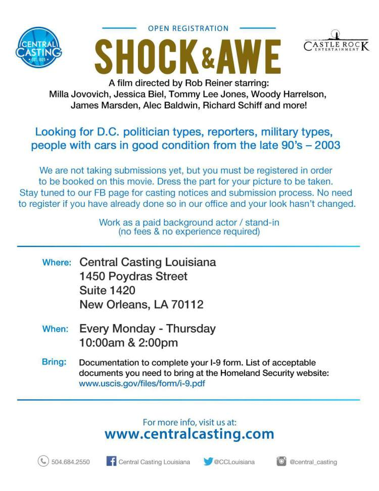 Shock and Awe Casting