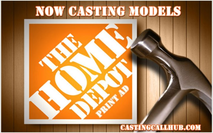 The Home Depot Photo Shoot Models