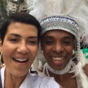 Cristina Cordula et Roberto Chaves au Festival du Lavage de la Madeleine 2016