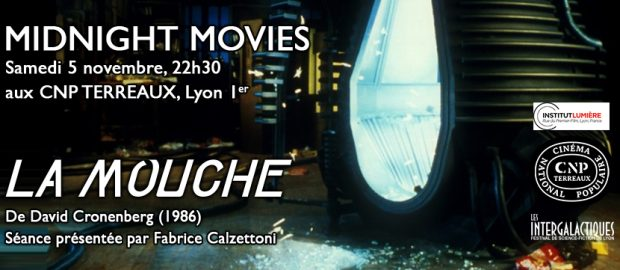 La Mouche en projection Midnight Movie ce samedi 5 novembre au CNP Terreaux !