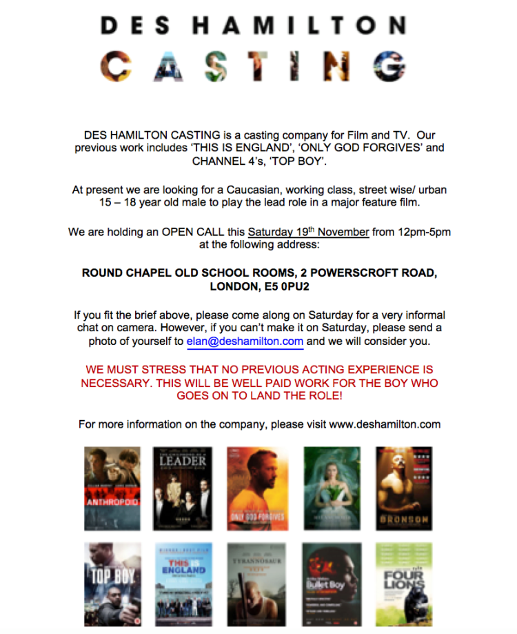 open-casting-call