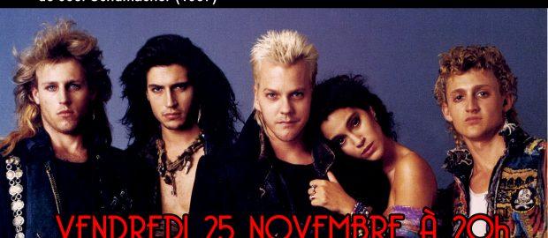 Projection «The Lost Boys» (Génération Perdue) ce vendredi 25 novembre à la MJC Monplaisir