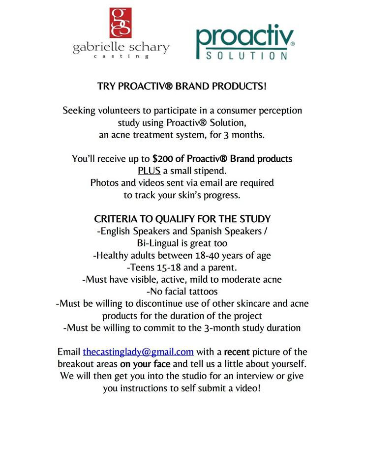 Proactive Casting Call