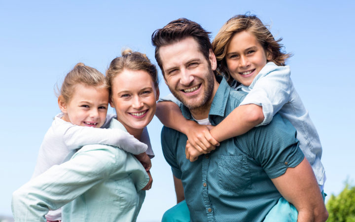Family for Airplane Print Ad – Photo Shoot
