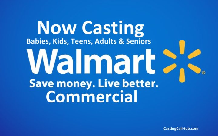 Walmart Commercial Audition