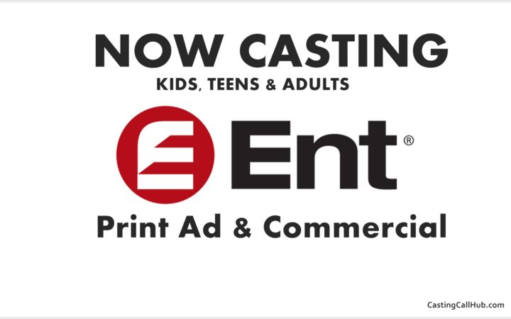 Print Ad and Commercial - Kids & Adults