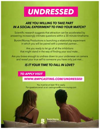 Dating shows castings