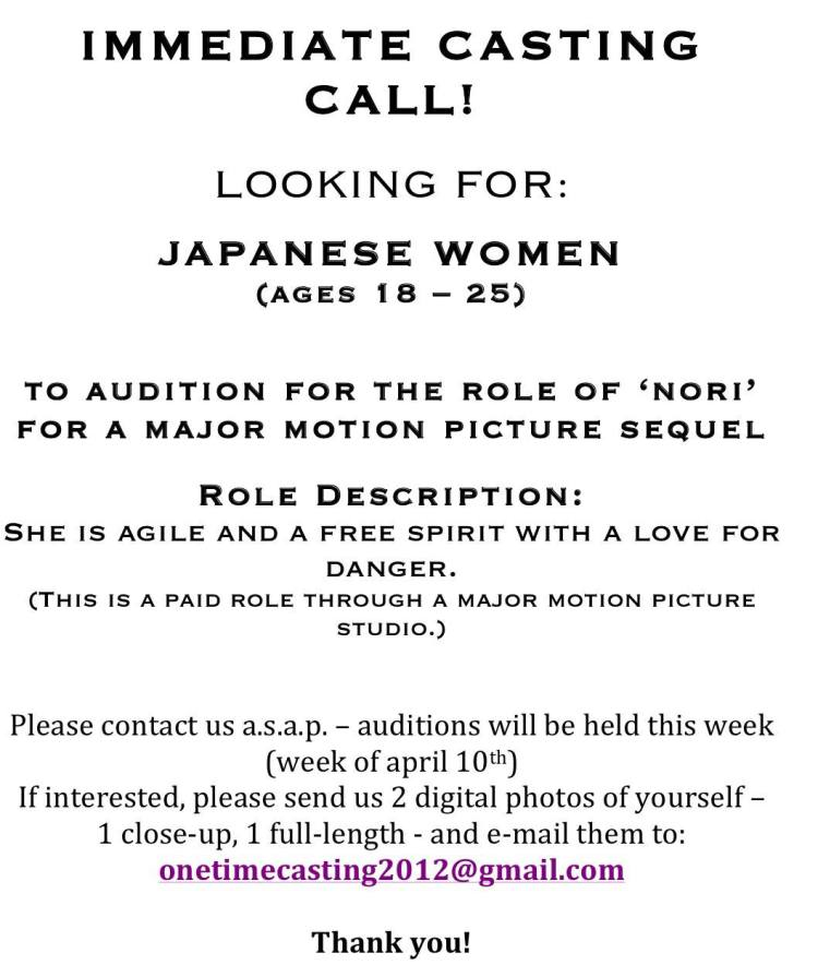 DisneyS Mulan Casting Director Is Now Casting New Speaking