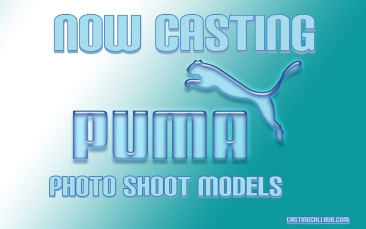 Puma Photo Shoot - Model