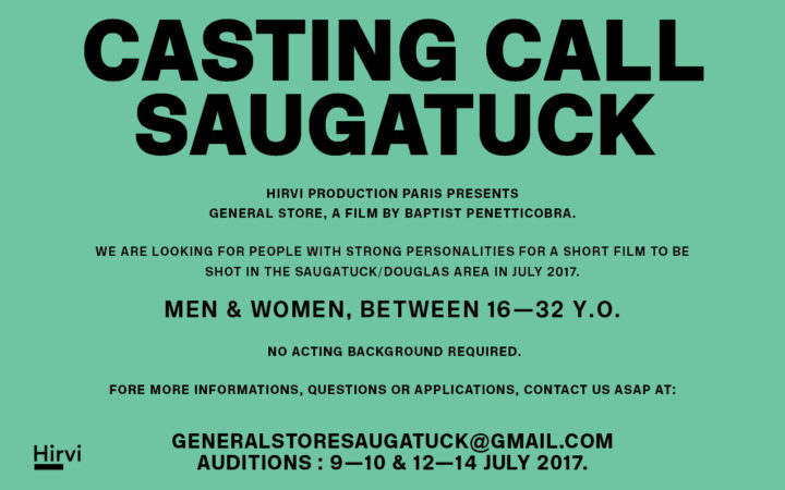 Actors for General Store – Michigan Movie Auditions for 2017