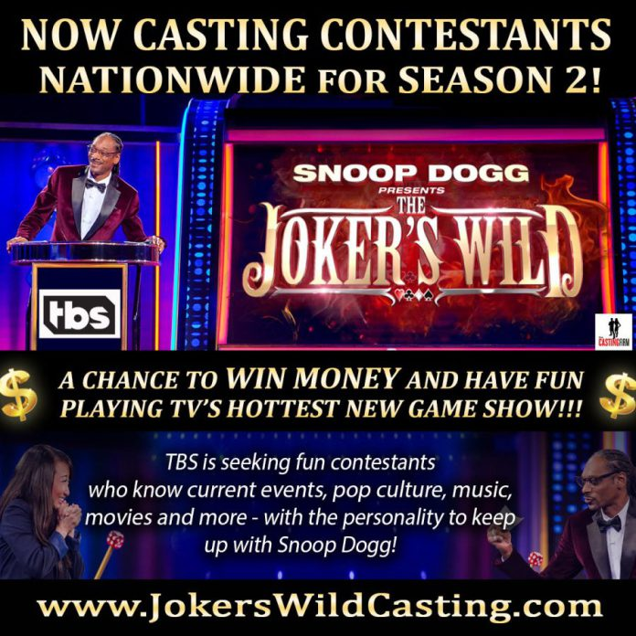 Casting: SNOOP DOGG PRESENTS: THE JOKER'S WILD! - Casting