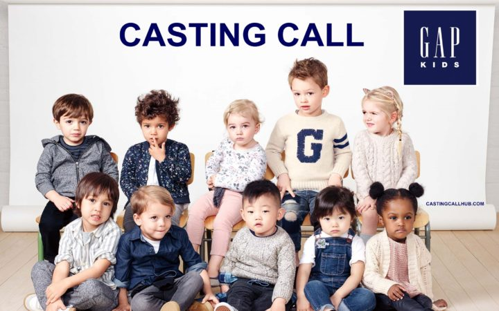 Gap Kids Commercial Auditions For 2017 Casting Worldwide