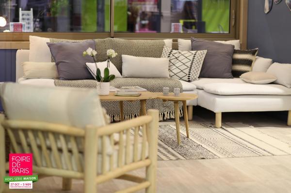 venez profiter d 39 un moment cocooning lors de la foire de paris hors s rie maison casting. Black Bedroom Furniture Sets. Home Design Ideas